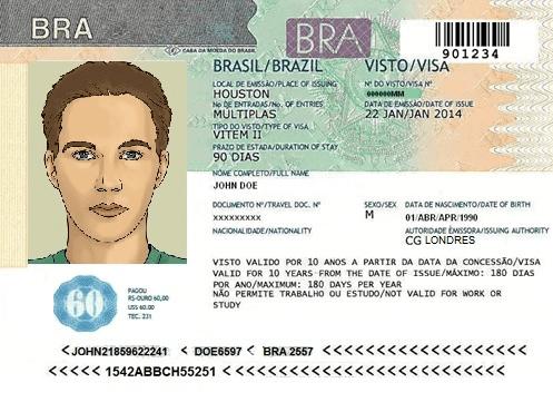 Como conseguir o Visto para o Brasil?