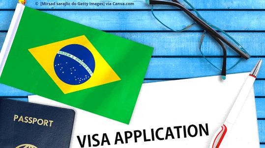 Como tirar o visto para o Brasil